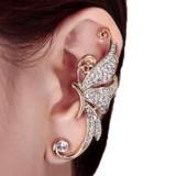 Kingfansion Splendid Crystal Butterfly Earring